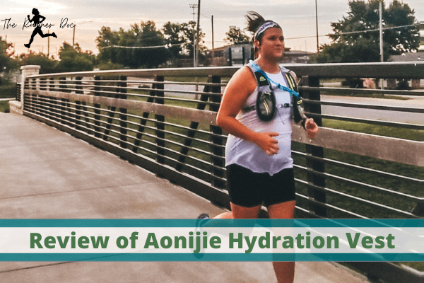 review of the aonijie hydration vest on amazon for runners