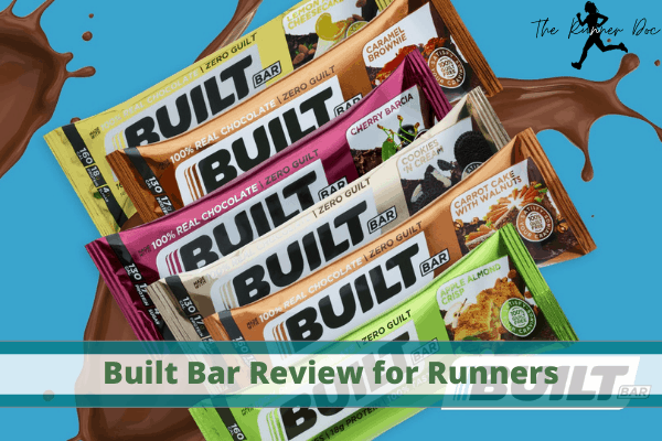 built bar review for runners, protein bar for running, the best protein bar for runners