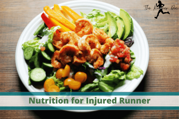 runners that are injured. Nutrition for the injured runner. how to eat if you have a running injury